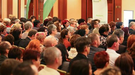Sikertervezés, jó példákkal – az ágak közös évzárója Budapesten