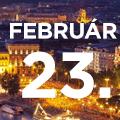 Budapest – Február 23. kedd 18:00